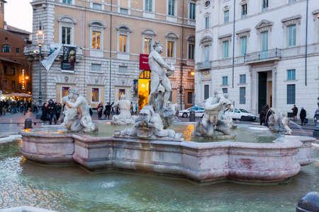 neptuno: Fuente de Neptuno - Roma