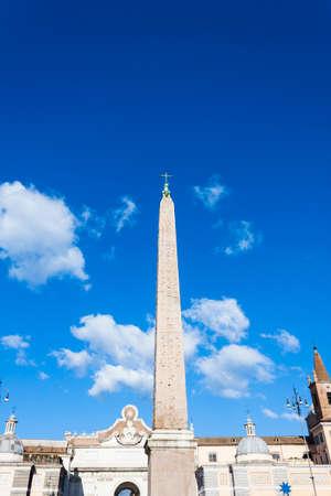 obelisk stone: Flaminio Obelisk - Rome