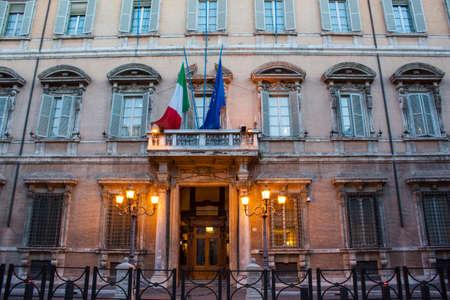 pius: Palazzo Madama - Rome Editorial