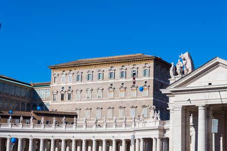apostolic: Pope from Apostolic Palace - Rome