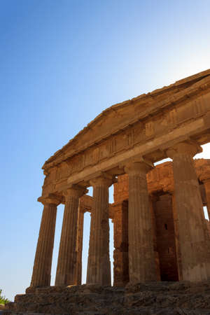 agrigento: Greek Temple of Concordia in Agrigento - Sicily, Italy