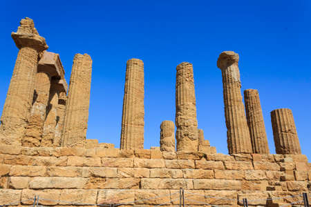 agrigento: Greek Temple of Juno in Agrigento - Sicily, Italy