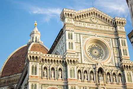 santa maria del fiore: Florence Santa Maria del Fiore Cathedral on blue sky