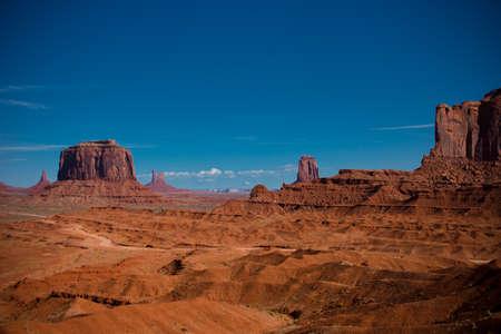 Wonderful view of Monument Valley, Arizona, USA