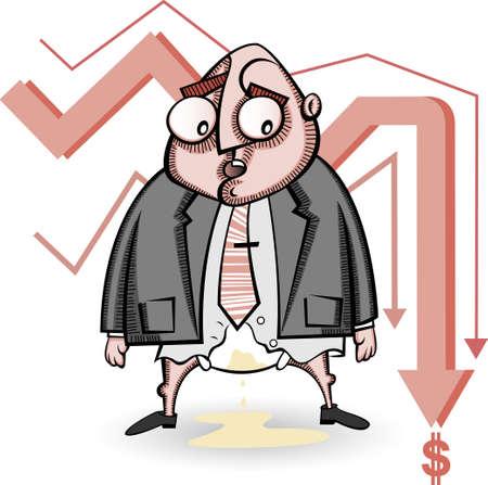 economic crisis Stock Vector - 5964469
