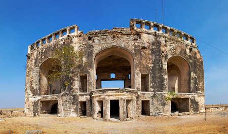 andhra: Bhongir Fort, Andhra Pradesh, India Stock Photo