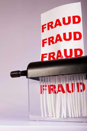 shredding: Shredding fraud.