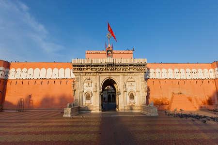 bikaner: The Rat Temple. Karni Mata Mandir, Deshnoke, Bikaner, Rajasthan, India.