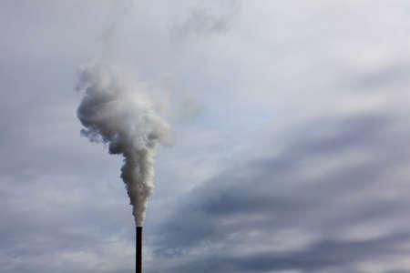 tall chimney: Pollution