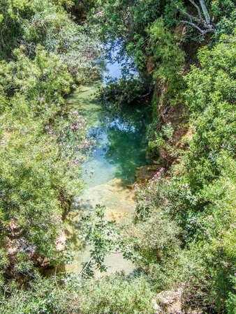 yard stick: Water ponds Pego do Infern Portugal