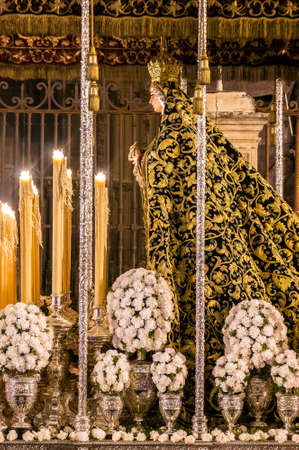 holy week in seville: Holy Week in Seville, Virgin Mary of the Presentation