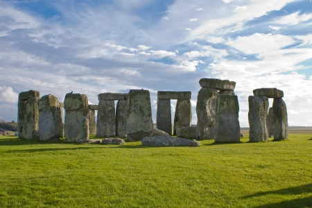 Stonehenge in Wiltshire, England  photo