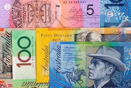 Australian dollar background Reklamní fotografie