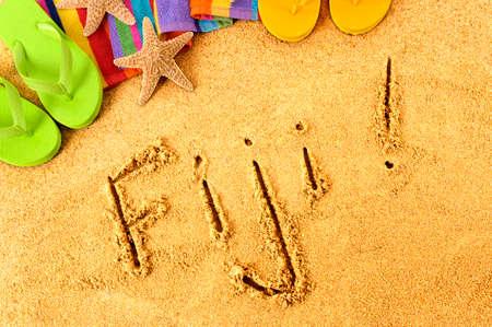 fiji: Fiji beach summer vacation