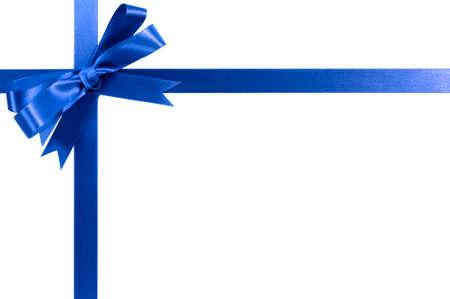 royal blue: Royal blue gift ribbon