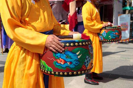 伝統: ソウル, 南朝鮮、伝統的なロイヤル ガード ドラム式の変更