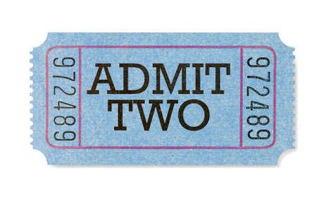 admit: Admit two movie ticket