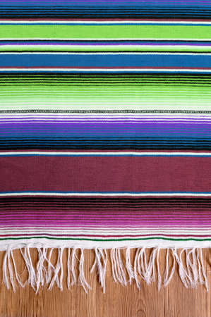 blanket: Mexico cinco de mayo traditional mexican serape rug or blanket background Stock Photo