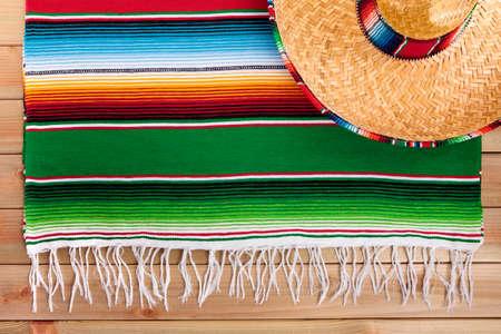 fiesta: Mexico cinco de mayo mexican sombrero fiesta background Stock Photo