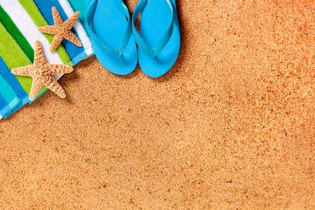 vacaciones en la playa: Fondo de playa tropical del verano