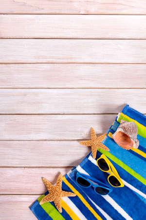 copies: Summer beach deck background