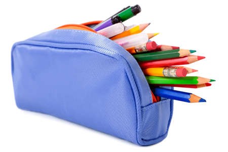 Étui à crayons Banque d'images