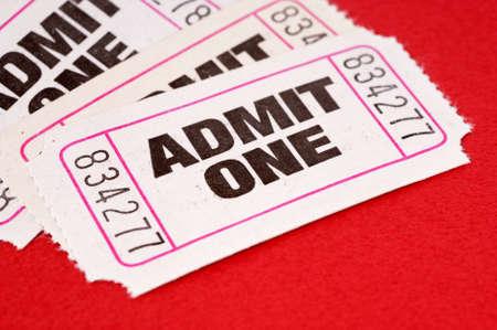 admit one: Admit one tickets
