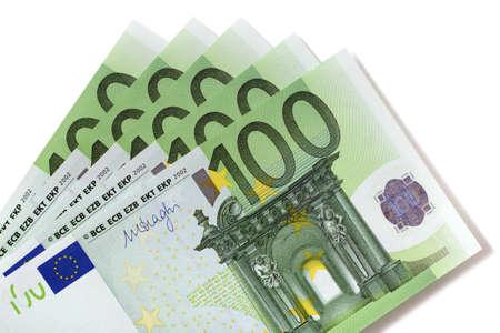Euro 100 bills