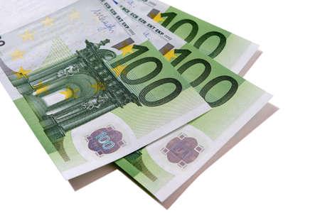 Euro 100 banknotes