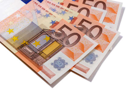 Euro 50 currency notes