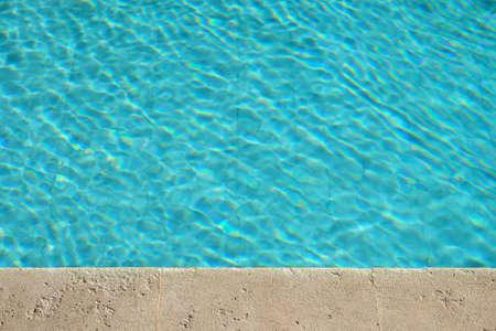 Swimming pool water Stock Photo