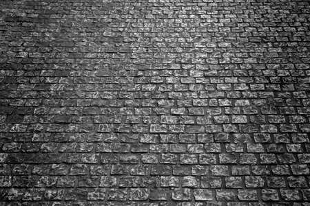 old cobblestone street background texture