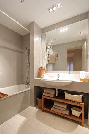 Ramblas-Boqueria Apartment - Bathroom2 Stock Photo - 16619399