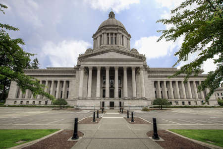 Washington State Capital Legislative Building in Olympia 2 Stock Photo