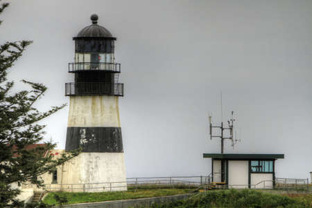 Cape Disappointment Lighthouse in Ilwaco Washington by Columbia River 3 Imagens