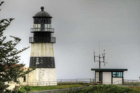 decepci�n: Faro de cabo decepci�n en Washington Ilwaco por el r�o Columbia 3