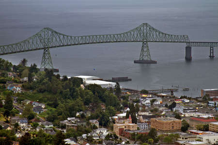 coxcomb: Astoria Megler Bridge over Columbia River from Oregon to Washington