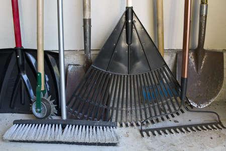 ガーデンシェッド ツールのさまざまなガーデニング ツール