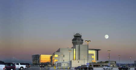 traffic controller: Air Traffic Control Tower at Portland International Airport 3