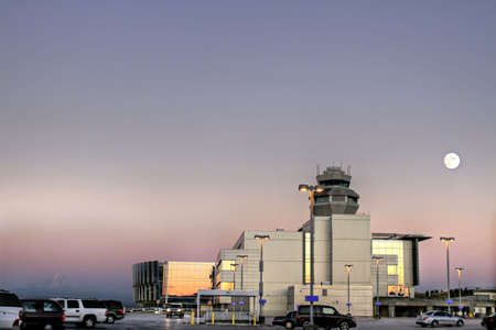 Air Traffic Control Tower at Portland International Airport 4 photo