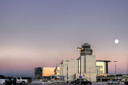 Air Traffic Control Tower at Portland International Airport 4 photo