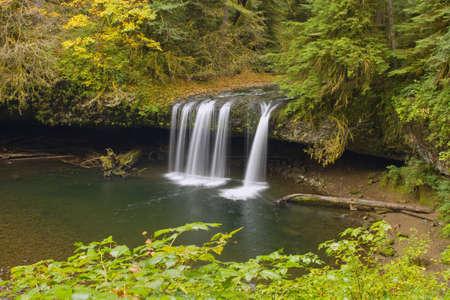 Upper Butte Creek Falls in Scotts Mills Oregon 2 Stock Photo - 7898514