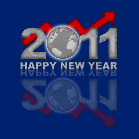 financial year: Happy New Year 2011 Global Financial Looking Up