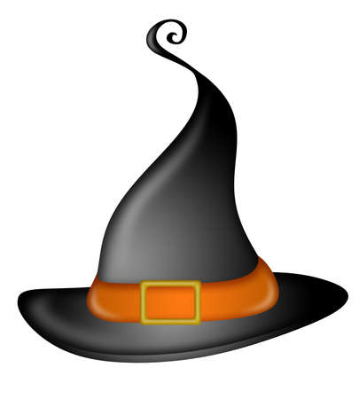 Halloween Witches Hat Illustration
