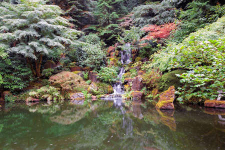 heavenly: Heavenly Falls at Portland Japanese Garden