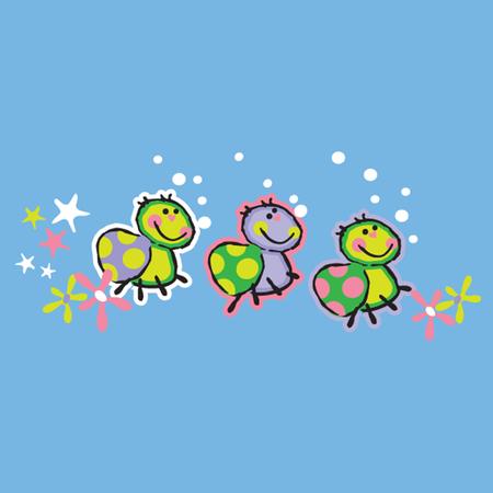 infantile: infantile turtle Illustration