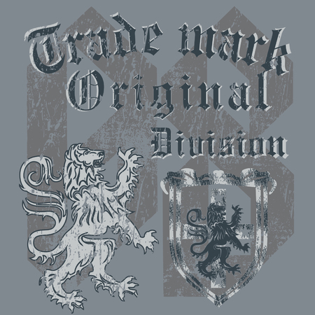 I design heraldic expressing a great termination quality