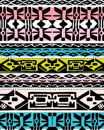 Colorful ethnic design