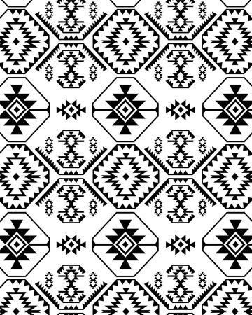 unique: Monochromatic ethnic design