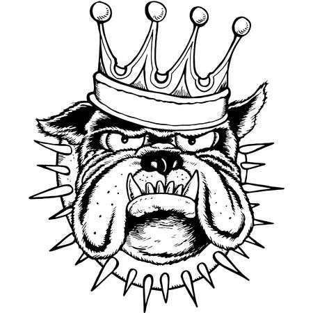 THE KING LINE Illustration